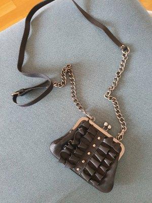 Jessica Simpson Mini sac noir-argenté