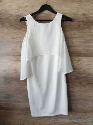LUC&CE Chiffon Dress white