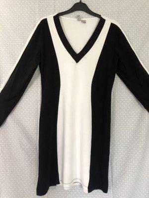 H&M Pencil Dress white-black
