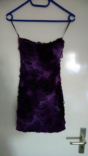 FB Sister Mini vestido negro-lila