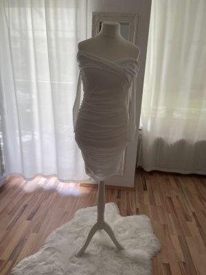 Bohoo Robe courte blanc