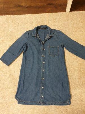 H&M Midi Dress steel blue
