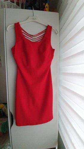 Mini-jurk rood