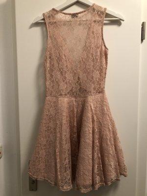 ASOS DESIGN Petite Robe de soirée rose clair