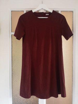 Minikleid aus Veloursleder