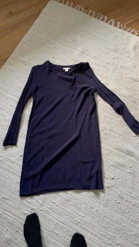 Minikleid, blau