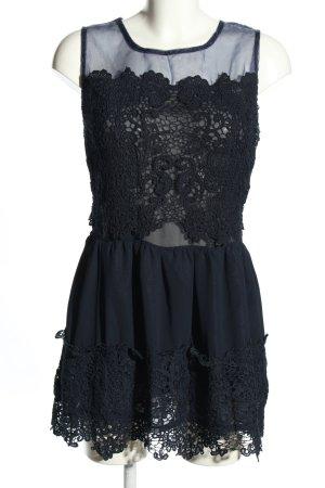 Minikleid blau Elegant