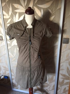 Blend A Line Dress grey brown