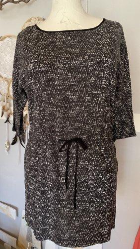 Camaieu Camicia lunga nero-bianco