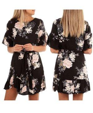A-Z Mini-jurk zwart