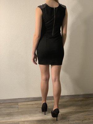 Clockhouse Mini-jurk zwart