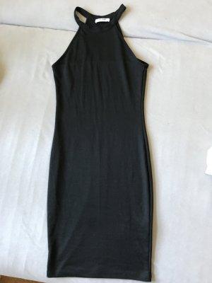 Zara Trafaluc Vestido de cuello Halter negro