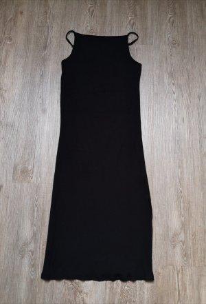 Minikleid Dotti S schwarz Kleid stretch Schlitz