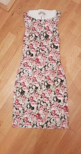 Zara Cut out jurk veelkleurig