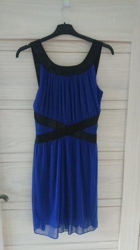 Minikleid Even & Odd, dunkelblau, Volant