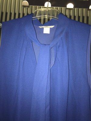 H&M Robe chiffon bleu