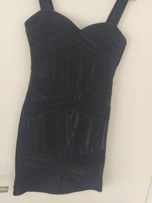 H&M Mini Abito argento-blu scuro