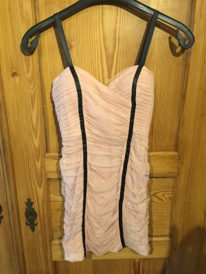 Adrianna Papell Mini vestido rosa Poliéster