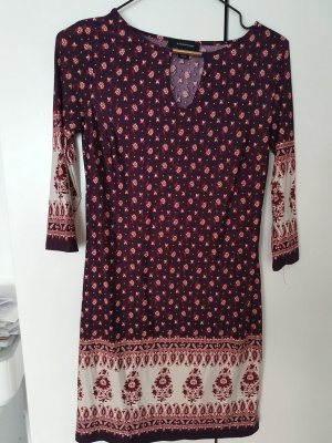 Atmosphere Mini Dress bordeaux
