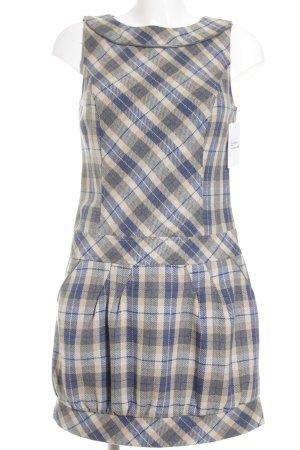 Minikleid Karomuster Street-Fashion-Look