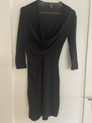 bobi Sukienka z długim rękawem czarny