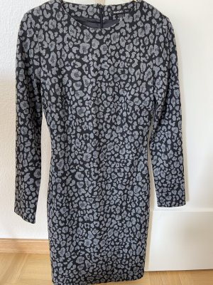 Mango Longsleeve Dress anthracite-light grey