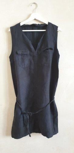 Minikleid Leinenkleid Batik //  Promod