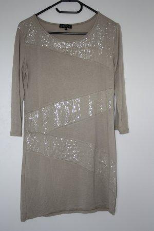 Minikleid, Longshirt Gr. 38 von Vestino beige