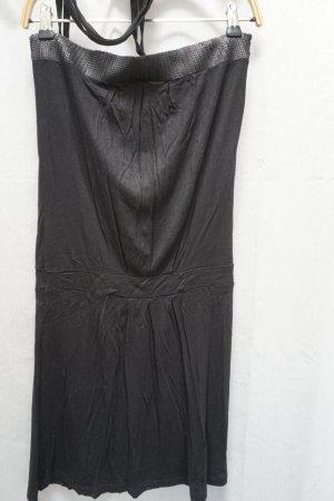 Only Vestido de cuello Halter negro