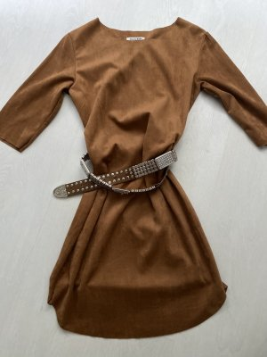 Cherry Koko Mini Dress cognac-coloured