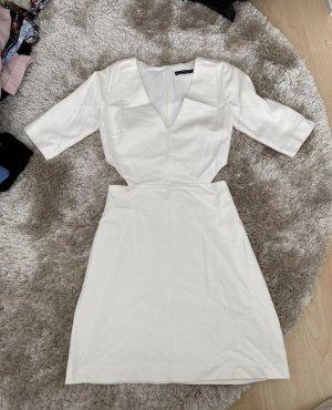 Vestido cut out blanco