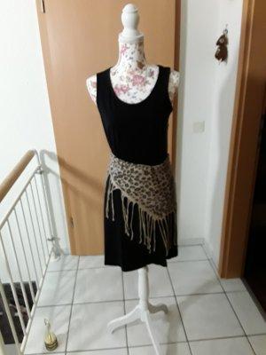 bpc bonprix collection Sukienka o kroju koszulki czarny