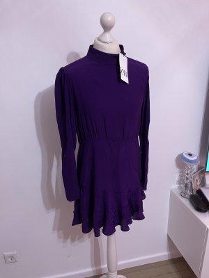 Zara Mini-jurk veelkleurig
