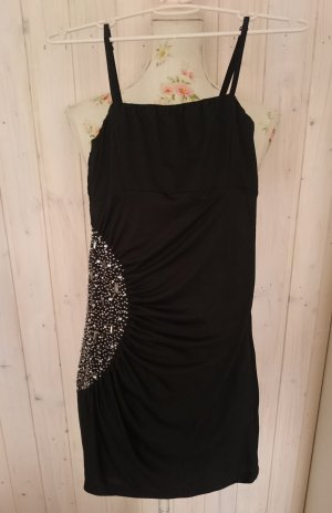 Minikleid Partykleid mit Perlen