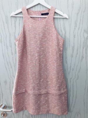 Minikleid rose-weiß
