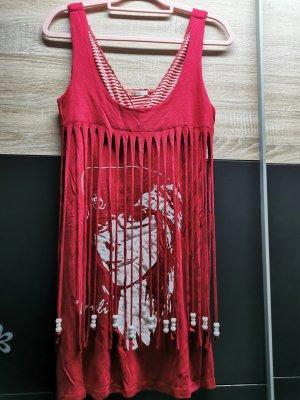 Minikleid rot-weiß