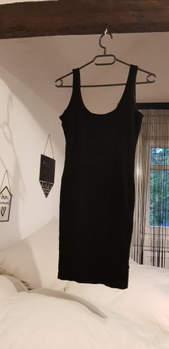 Minikleid samt schwarz figurbetont eng kurz sexy