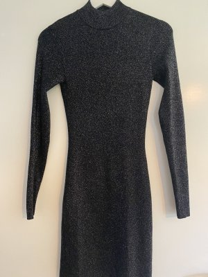 Minikleid schwarz glitzer