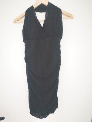 Minikleid schwarz Neckholder
