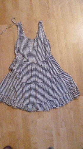 Minikleid  Sommerkleid - blau/weiß Gr. 36