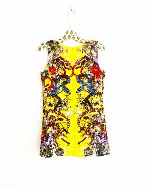 minikleid • vintage • gelb • sommerkleid