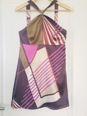 Ana Alcazar Robe courte multicolore