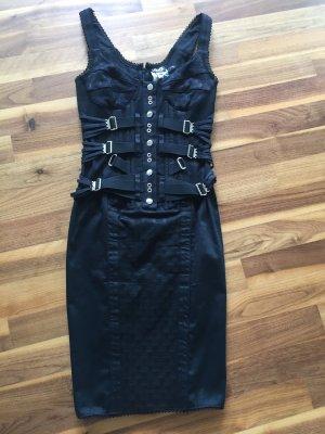 D&G Sukienka z gorsetem czarny