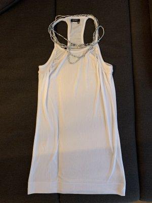 Miss Sixty Sukienka midi srebrny-biały