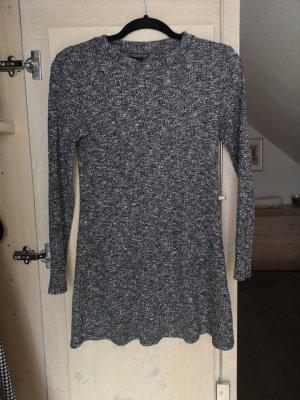 Topshop Robe en maille tricotées noir-blanc