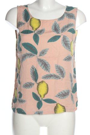 Minimum ärmellose Bluse Blumenmuster Casual-Look