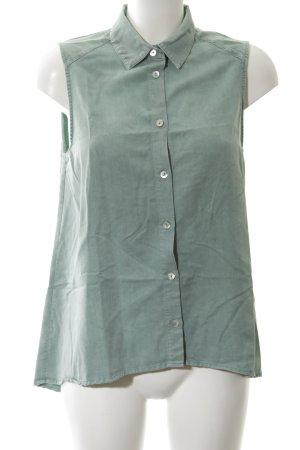 Minimum ärmellose Bluse grün Casual-Look