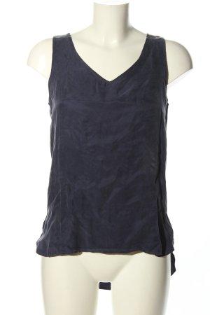 Minimum ärmellose Bluse blau Casual-Look