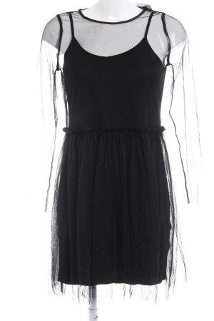 Minimum Ballonkleid schwarz Street-Fashion-Look