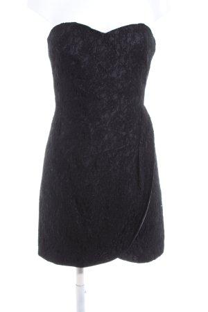 Minimum Bandeaukleid schwarz Elegant